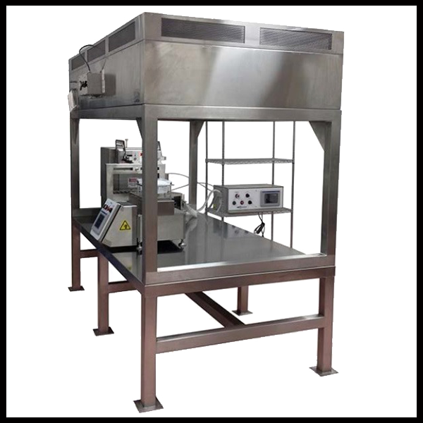 Vertical Laminar Down Flow Single Pass Straddle Work Station
