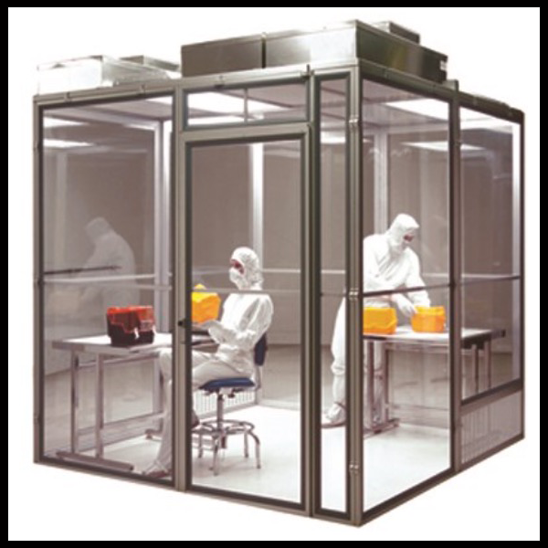 Modular Clear Rigid Wall Cleanroom System
