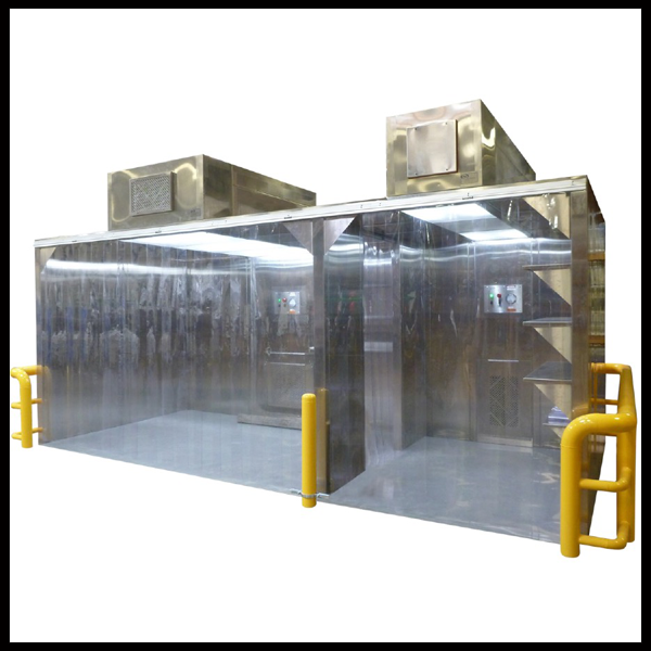 Modular Hard Wall Cleanroom System